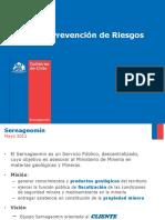 Seminario Prevencion de Riesgos - Sernageomin - E.valdivieso