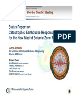Status Report on Castastrophic Earthquake Response Planning for the New Madrid Seismic Zone Region