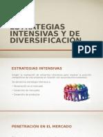 Estrategias Intensivas y de Diversificación