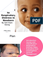 An Approach to Respiratory Distress in Newborn