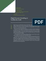 High pressure grinding rolls