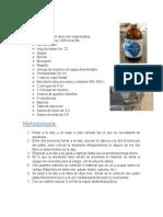 Material y Metodos, Practica de micción