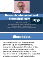 Research Misconduct and Biomedical Journals-M Hakimi-Bioetics Center (2015)