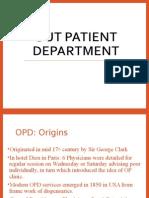 Out Patient Department