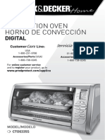 Manual Horno de convección digital Black and Decker