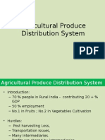 Agricultural Products Distribution System