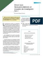 Método Lógico Para Elaborar Un Protocolo de Inv PARTE 1.