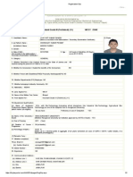 FCI Registration Slip