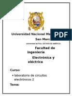laboratorio circuitos electronicos2 unmsm-previo-amplificador diferencial