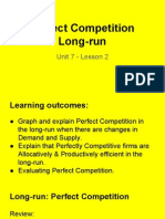 perfect competition - lesson 2