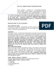 Guidelines MAJOR Projects and Dissertation