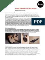 Review of Skylark and Songbird Fan Fret Models