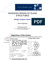 Design of Glass Column