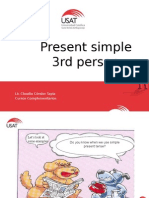 Present Simple 2 Third Person