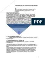 Financiación y Gobierno de Las Orquestas Sinfónicas en España