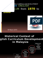 6th Lecture - Msia English Curriculum