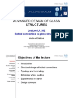 Bolted Connection in Glass Structure