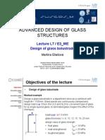 Design of Glass Balustrade