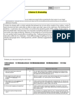 evaluation html webpage