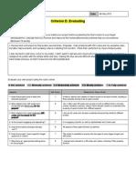 unit3 criteriond evaluation
