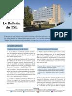 Bulletin du TSL - Juin 2014