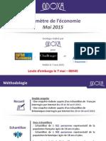 Baromètre de l'économie mai 2015