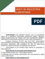Antioxidanti in industria alimentara