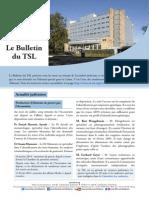 Bulletin du TSL - Juillet 2014