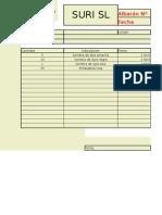 Albarán SURI Con VALIDACIONES (Fecha y Cantidad Incluidas)