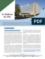 Bulletin du TSL - Novembre 2014