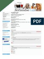 Zinsbouwstijl de Nederlandse Taaltest