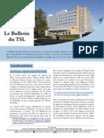 Bulletin du TSL - Février 2015