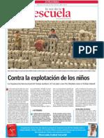 Contra la explotación de los niños.LVE.06.05.2015