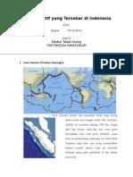 5 Sesar Aktif Yang Tersebar Di Indonesia