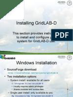 1.2 Installing Demo GridLAB D