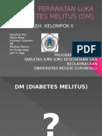 Perawatan Luka Diabetes Melitus (Dm)