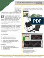 Caster Mold Oscillation Diagnostics