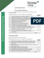 skills audit - oct  2014