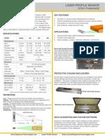 Laser Profile Sensor