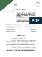 ACÓRDÃO PROCESSO ADMINISTRATIVO 05