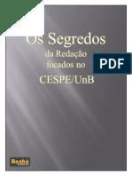 Redação - Os Segredos Da Redação Focado No CESPE - eBook