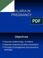 Malaria in Pregnancy