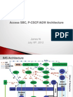 Gnenral p Cscf Architecture