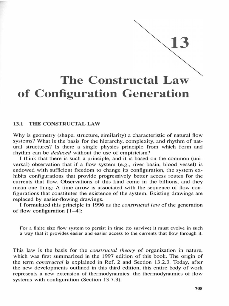 Advanced Engineering Thermodynamics (the Constructal Law)-Adrian Bejan |  Second Law Of Thermodynamics | Materials Science
