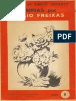 Lecciones de dibujo artístico. Láminas por Emilio Freixas - Serie 6 (Plantas y flores).pdf
