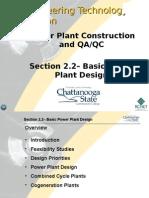 Basic Power Plant Design