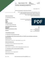 Karta charakterystyki Septa Sanitar Cl S5