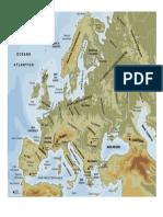La Diversidad Geográfica de Europa - 1º ESO