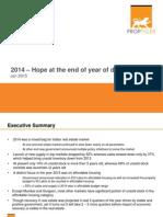 PropTiger 2014 Indian Real Estate Market Overview