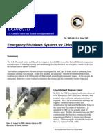 Cs b Chlorine Shutdown Bulletin